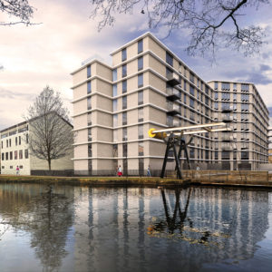 1_EXTERIOR RENDERING (ASHTON CANAL BASIN VIEW) - REV 0